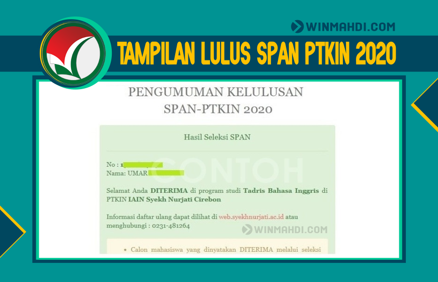 Lulus SPAN-PTKIN 2020