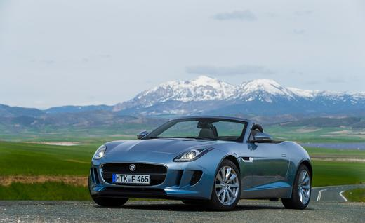 جاجوار اف تايب 2014 - جاجوار F type 2014 - صور Jaguar F-Type 2014