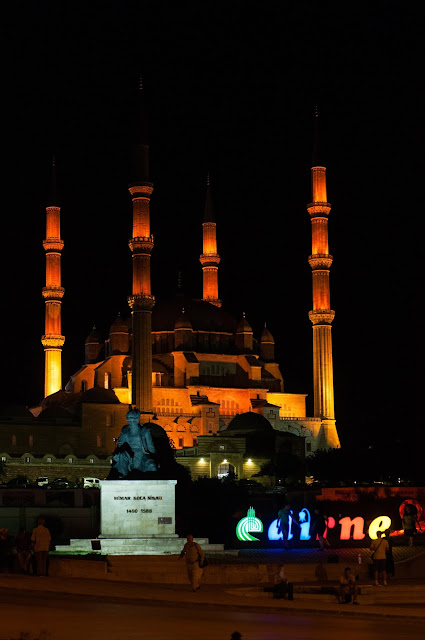 Edirne by night