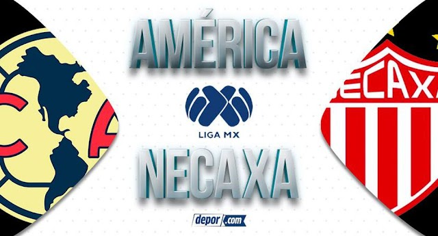 Liga mx como ver en vivo Club América vs  Necaxa 28-02-2020