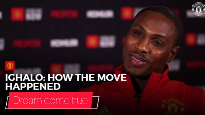 Manchester United New Signing Odion Ighalo Reveals STREET PARTIES in Nigeria To Celebrate His Transfer (Full Interview)