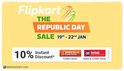 Best Flipkart Republic Day & Amazon Great Indian sale 2020 Deals & Offers On Electronics
