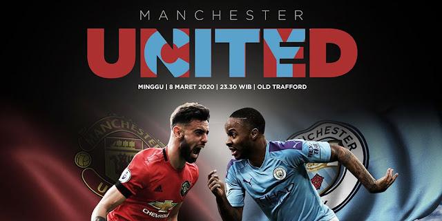Laga Panas Duel Derby Manchester d Minggu Ini di Streaming Mola TV