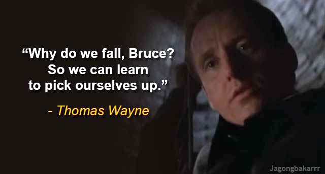 kumpulan quote fenomenal dari batman and the dark knight trilogy