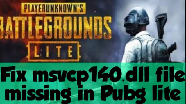 fix-msvcp40-dll-file-missing-in-pubg-lite