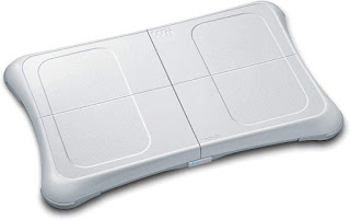 Fotografía de la Balance Board de la Wii