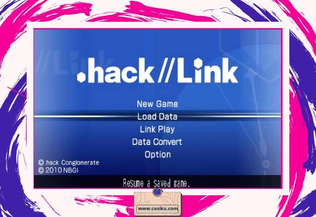 Download Game HACK//LINK PPSSPP