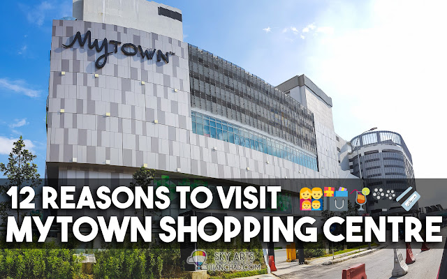 12 Reasons to Visit MyTOWN Shopping Centre Cheras KL #MyTOWNKL