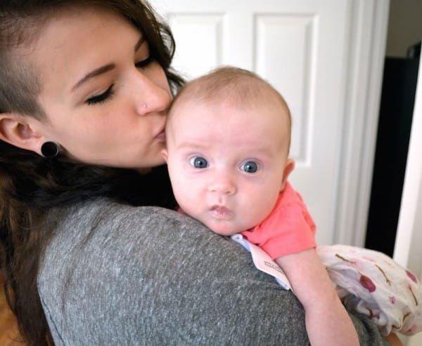 Casey dan anaknya (Facebook/Casey Fischer)