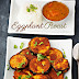 Eggplant roast / Aubergine roast / Eggplant fry with video / Recipes with video