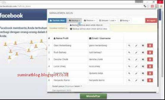 Tool Gratis Untuk Ternak Akun Facebook terbaru