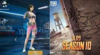 Bocoran baru mengungkapkan debut karakter baru bernama Sara Karakter Baru Sara Hadir di PUBG Mobile Season 10