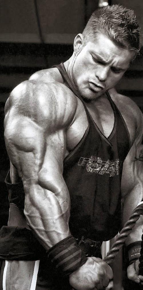 تمارين اساسية لبناء عضلات التراى بالصور
