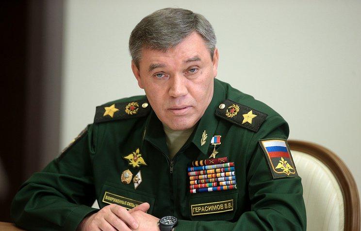 Начальник Генштаба, первый замминистра обороны РФ Валерий Герасимов.