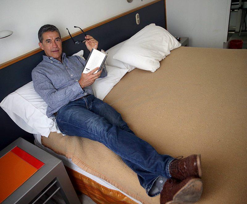Los trucos de Polo Ramírez para tomar una siesta en Viña