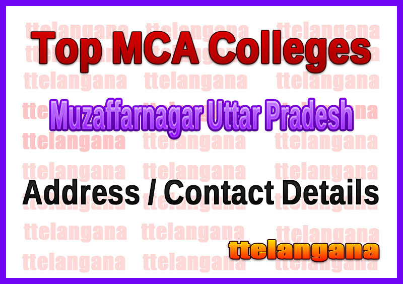 Top MCA Colleges in Muzaffarnagar Uttar Pradesh