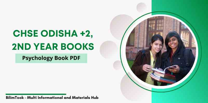 CHSE Odisha Plus Two 2nd Year Psychology Book PDF, +2 Arts 2021