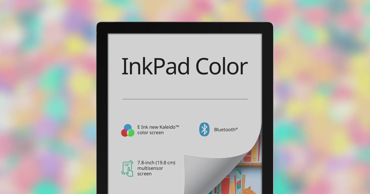 PocketBook InkPad Color z kolorowym ekranem E Ink Kaleido w sprzedaży od lutego 2021 r.