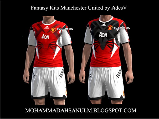 PES-MODIF: Fantasy Kits Manchester United By AdesV