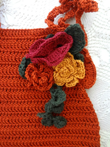 Autumn Roses Brooch