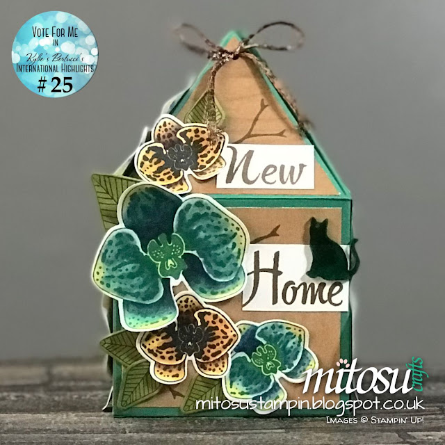 New Home Gift Box using Climbing Orchid Builder Bundle order from Mitosu Crafts UK Stampin' Up! Online Shop