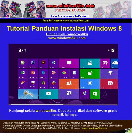 Cara Instal Windows 8 - marcellinoagathaCara mendapatkan Key,Patch, Serial Aktivasi, Serial ...