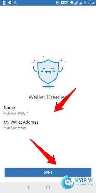Đăng kí ví Trust wallet