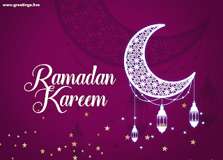 ramadan lantern crescent moon background Ramadan kareem Ramadan Eid 2019 greetings