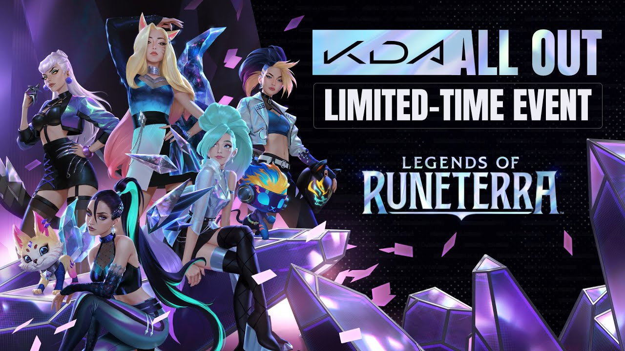 "Legends of Runeterra - K / DA Themed Event ""ALL OUT"" Started"