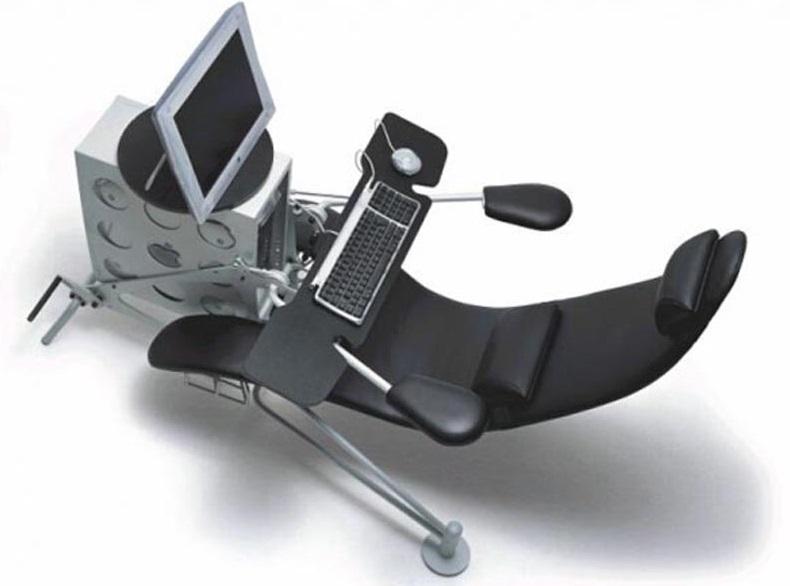 kursi kerja kantor paling nyaman dan ergonomis