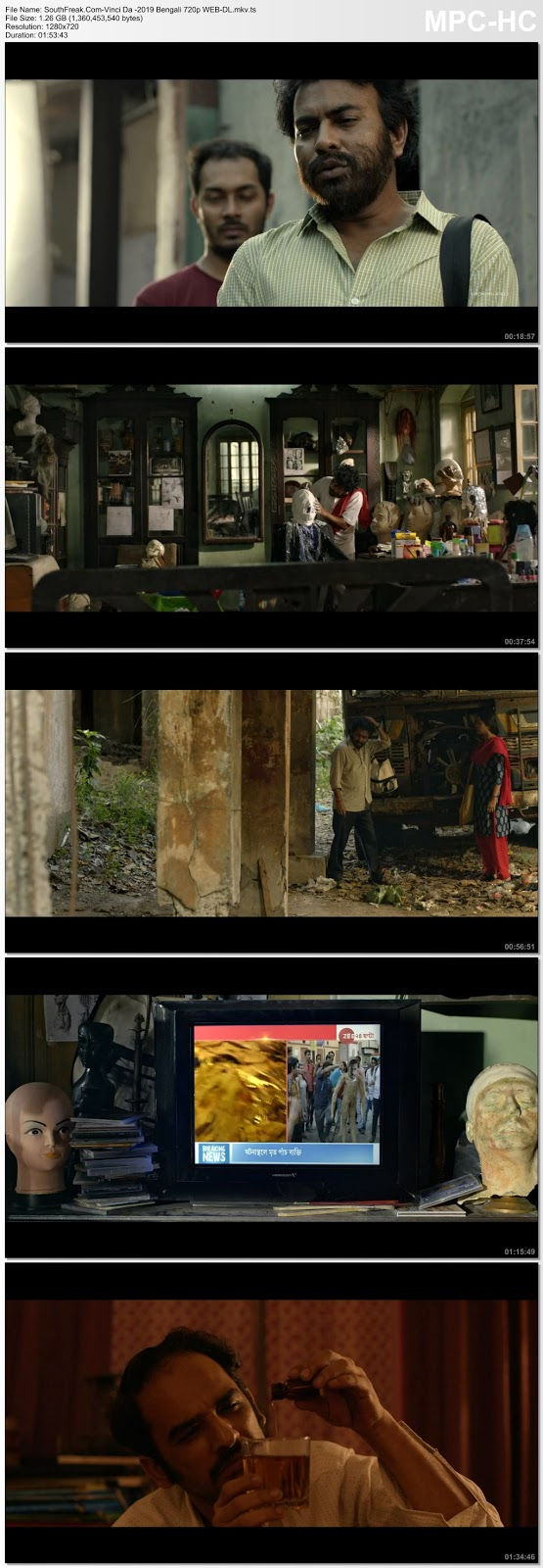 Vinci Da 2019 Bengali Full Movie 480p  WEB DL 400MB | 720p WEB DL 1.3GB With Google Drived Link (southfreak1.tk)