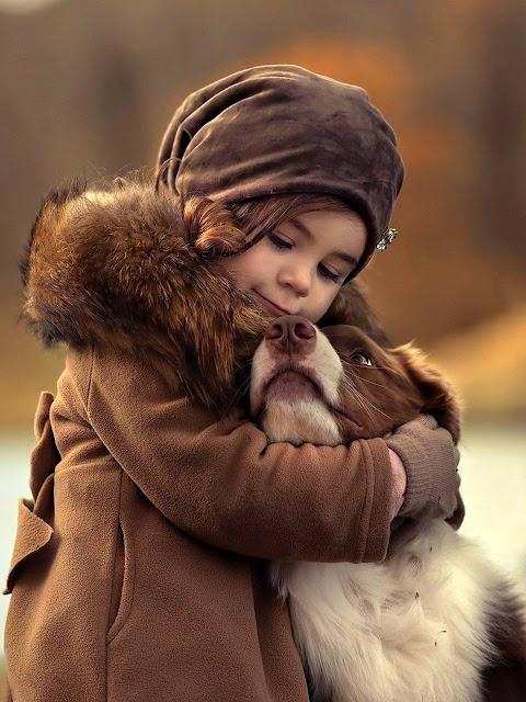 Baby Girl Và Cún