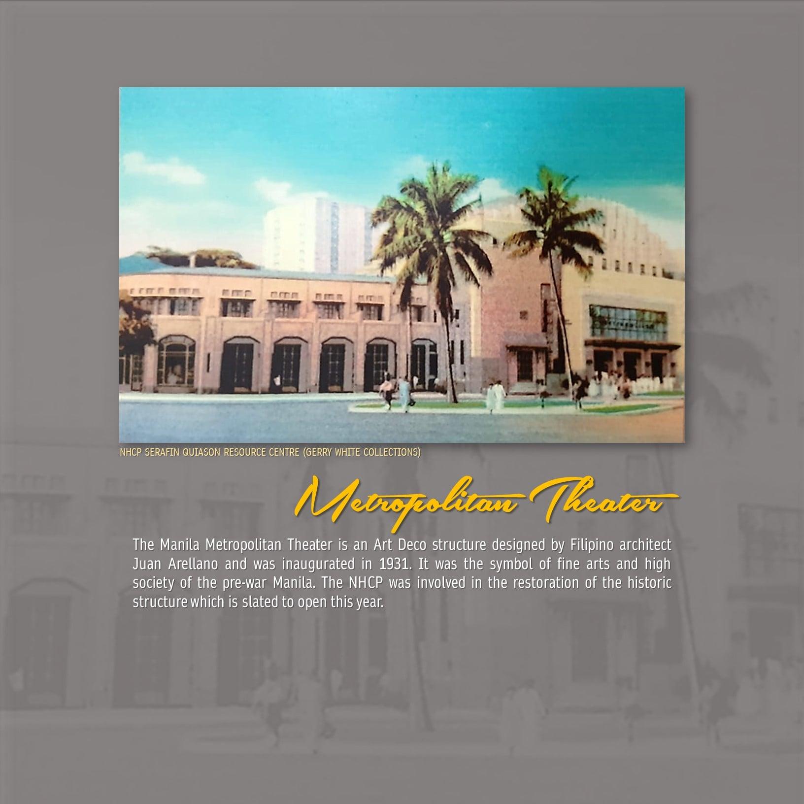 Metropolitan Theatre Manila Philippines