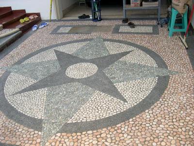 Gambar Lantai Carport Batu Kali