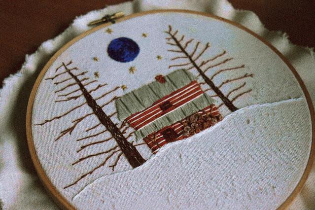 tiffany davidson - folk embroidery - strange art