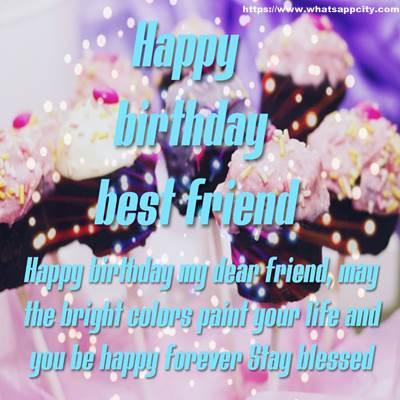 50 Happy Birthday Best Friend Images Download Whatsapp City