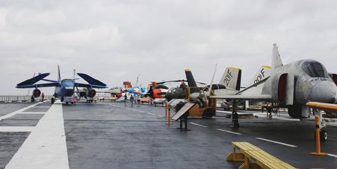 USS Lexington Planes Museum Texas
