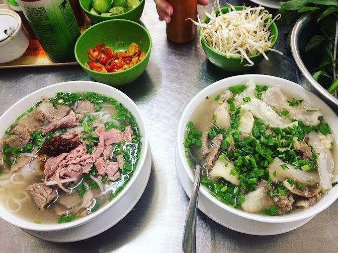 Review một số quán phở ở Sài Gòn