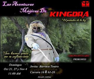 POS 1 Las aventuras mágicas de kingdra