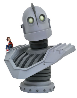 Diamond Select LEGENDS IN 3D IRON GIANT half SCALE BUST 001