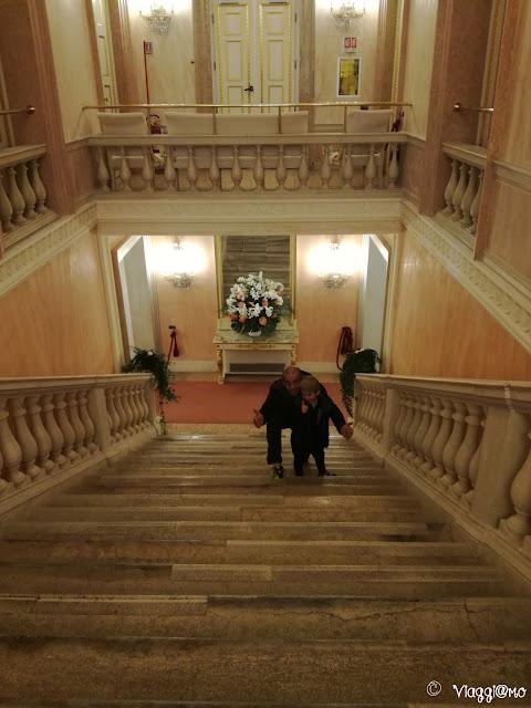 Scalone interno del Teatro la Fenice