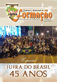 JUFRA DO BRASIL LANÇA 12ª EDIÇÃO DO CADERNO NACIONAL DE FORMAÇÃO