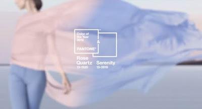 Rose Quartz & Serenity, colore Pantone 2016
