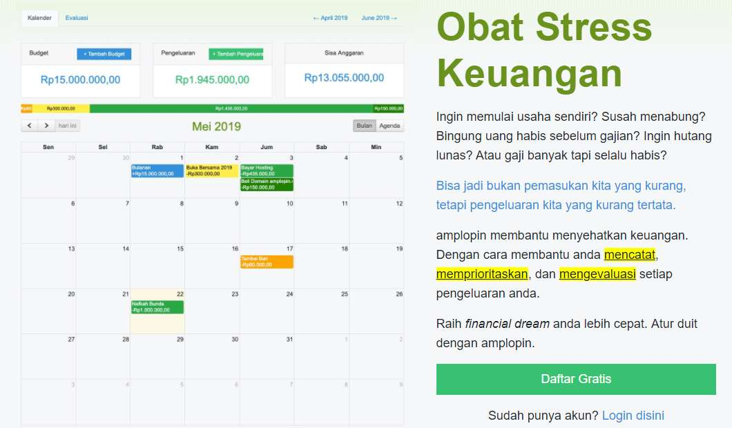 Aplikasi Akuntansi Pengatur Pencatat Laporan Keuangan Bisnis Usaha