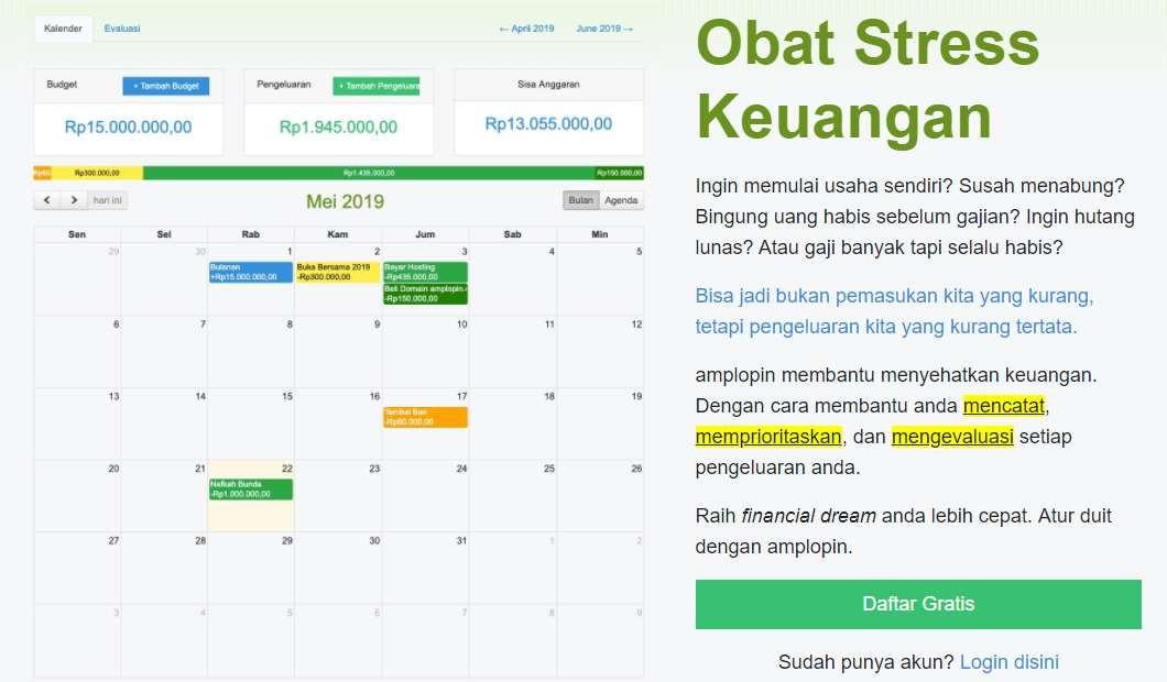 Aplikasi Pengatur Keuangan Manajemen Perencana Pencatat Laporan