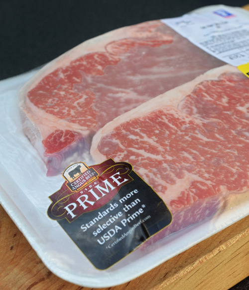 Certified Angus Beef® Brand NY Strip Steaks from Food City