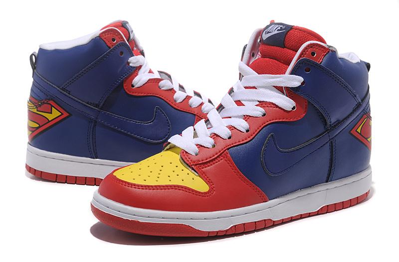 Superman Shoes Nike Dunks