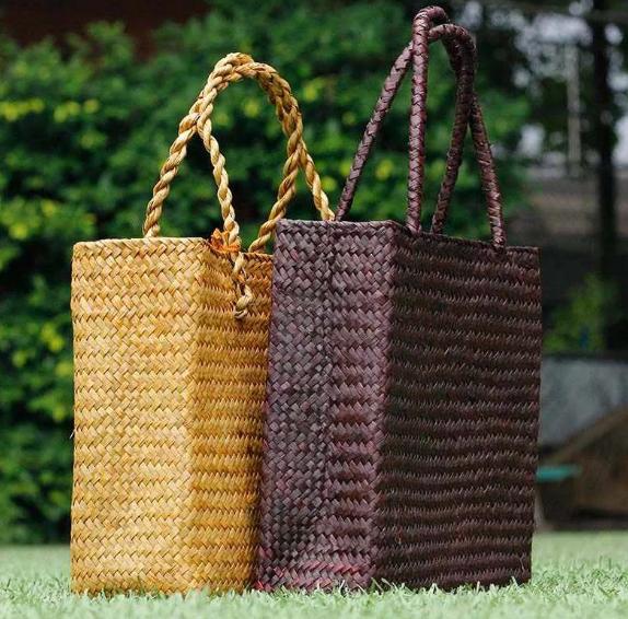 соломенные сумки своими руками
