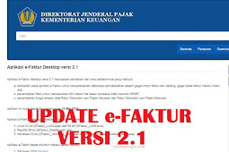 Download Update e-Faktur Versi 2.1 Mei 2018