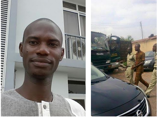 nigerian blogger sues police 150 million